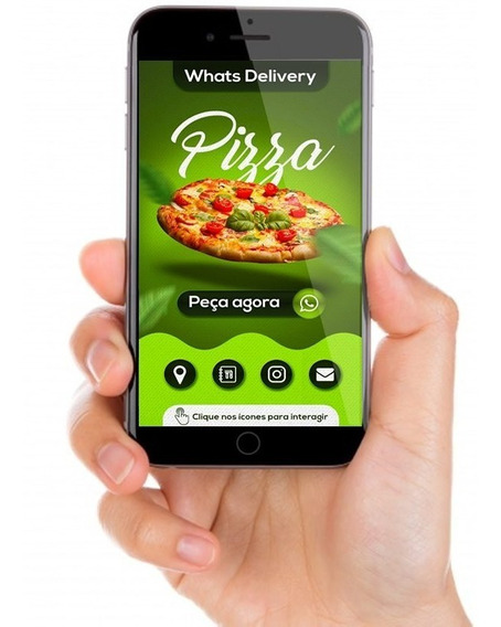 Cartão Personalizado Virtual De Contato Para Whatsapp