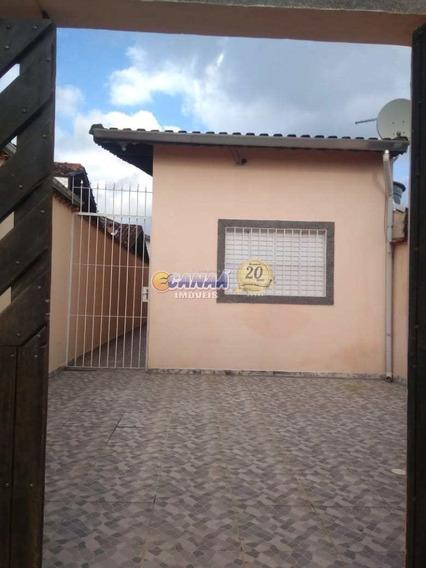 Casa À Venda Em Mongaguá, Bairro Plataforma Ii - Ref. 7995 E