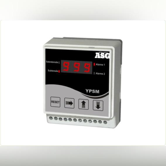 Supervisor Monofasico De Tensão Com Display Ypsm 600vca A=90