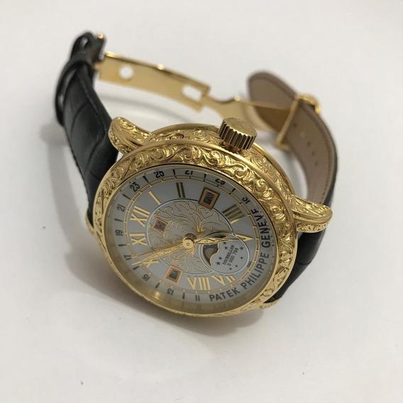 Relógio Ptk Geneve Dourado