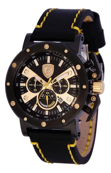 Relógio Lamborghini Lb90036652m Masculino