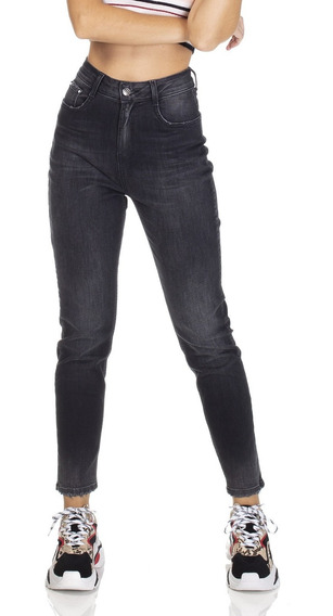 Calça Jeans Feminina Mom Fit-dz3112