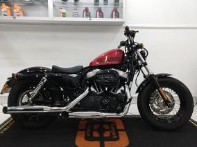 Harley Davidson Forty Eight Vermelha 2015 - Target Race