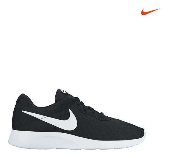 Tenis Nike Tanjun Negro-blanco Caballero Oct 2016