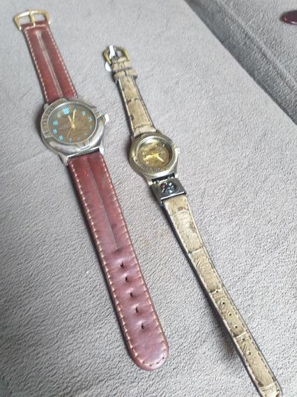 2 Relógios Yankee Street Magnum Aviador Bússola Antigo Raro