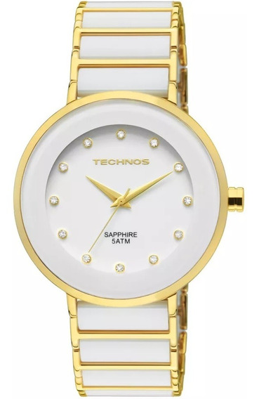 Relógio Technos Feminino Elegance 2035lmm/4b Branco
