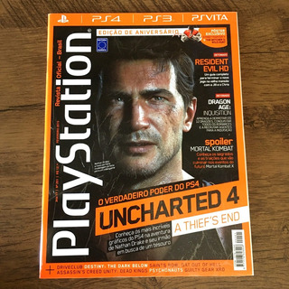 Lote - 7 Revistas Playstation Oficial - Brasil