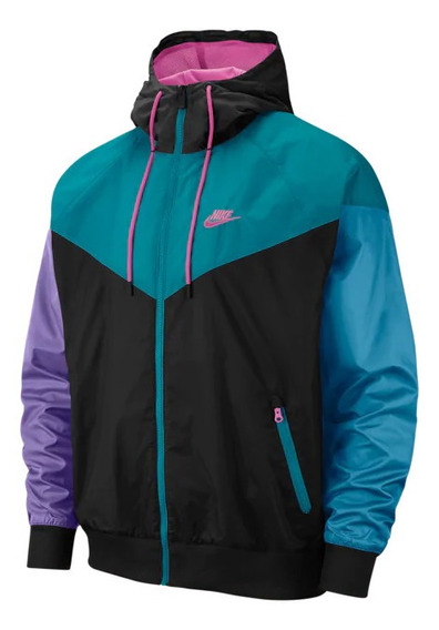 Jaqueta Corta Vento Nike Unisex Impermeável Laçamento