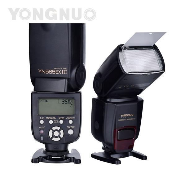 Flash Yongnuo Yn 565ex Iii I-ttl P/ Câmeras Nikon