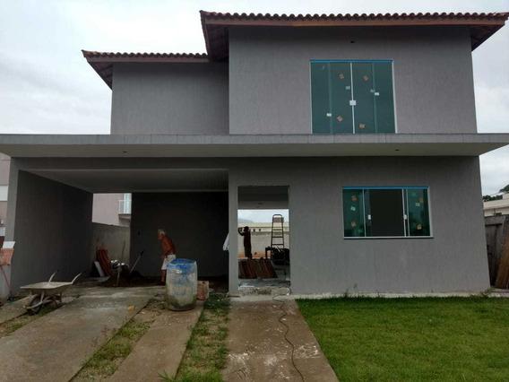Casa Alto Padrão Com 4 Quartos Em Itanhaém/sp 6210-pc