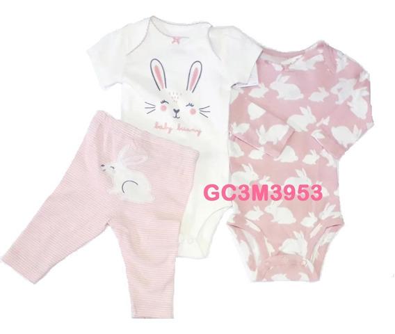 Conjuntos De Bebes Carters Para Niñas Talla 3 Meses