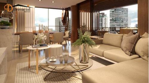 Apartamento À Venda, 145 M² Por R$ 1.404.637,60 - Água Verde - Curitiba/pr - Ap3594