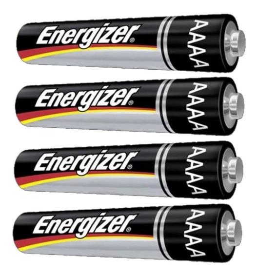 Pilha Aaaa Energizer - 4 Unidades - Validade 2023