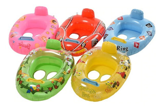 Bote Inflable Bebes Salvavidas P/ El Agua Pileta Vs Motivos