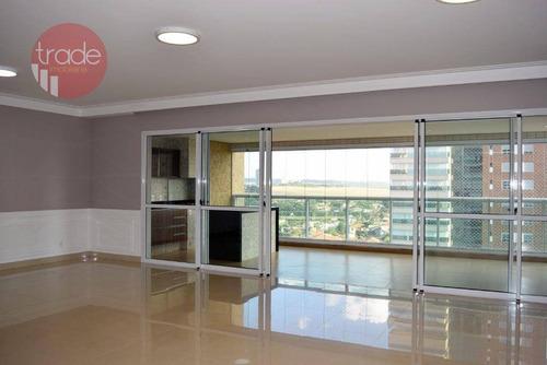 Apartamento, 266 M² - Venda Por R$ 2.100.000,00 Ou Aluguel Por R$ 8.000,00/mês - Residencial Morro Do Ipê - Ribeirão Preto/sp - Ap2901