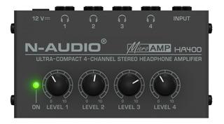 Preamplificador De Auriculares Ha400n 4 Salidas Stereo