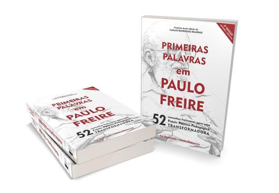 Livro Primeiras Palavras Em Paulo Freire