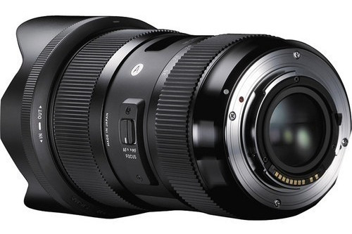 Lente Sigma 18-35mm F/1.8 Dc Hsm Art - Canon Sem Juros