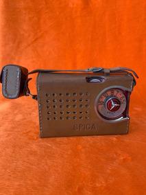 Rádio Spica Transistor Model St-600 Coleção Raro C/fone