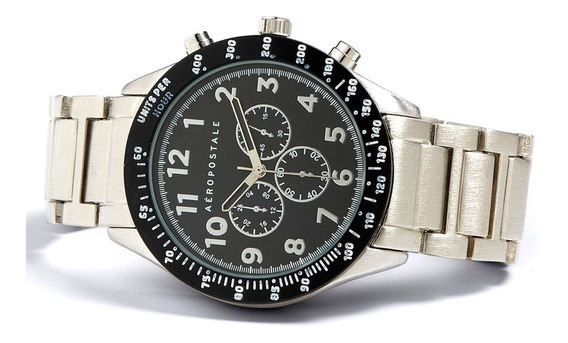 Relógio Masculino Metal   Aeropostale Frete Grátis