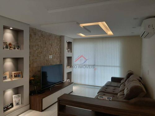 Apartamento Com 3 Dormitórios À Venda, 115 M² Por R$ 800.000,00 - Vila Bocaina - Mauá/sp - Ap0010