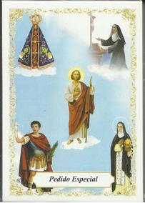 Santinho Pedido Especial Com Oração - 100 Unidades