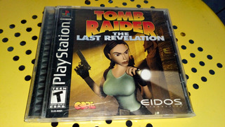 Playstation Tomb Raider The Last Revelation Original Complet