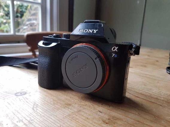 Sony A7s Fulframe Com Lente Sony 50mm Fe