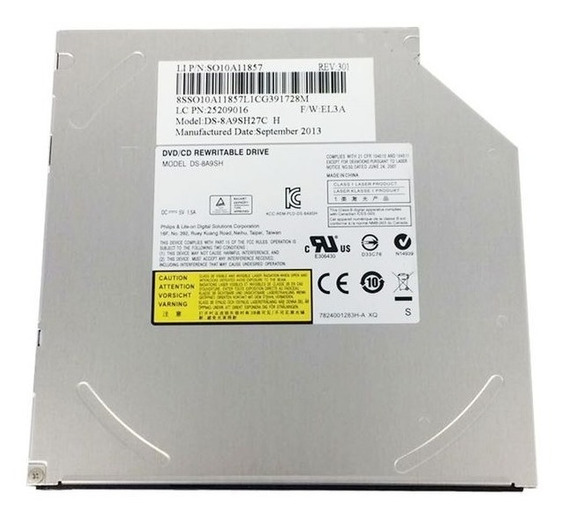Gravador Dvd Rw Interno Sata Para Notebook Dell N4030