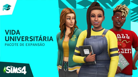 The Sims 4 Todas Expansões + Vida Universitária - Digital Pc