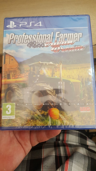 Professional Farmer American Dream Ps4 Mídiafísica Impecável