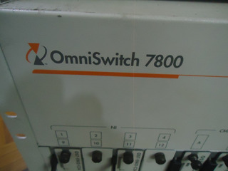 Central Alcatel Omniswitch 7800