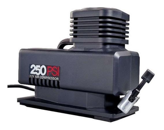 Bomba Compresor Inflador Aire Cauchos 250 Psi 12v Portatil