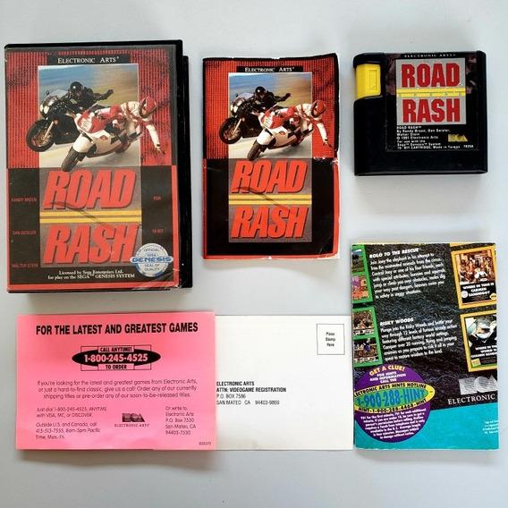 Road Rash 1 Original Cib Mega Drive Sega Genesis