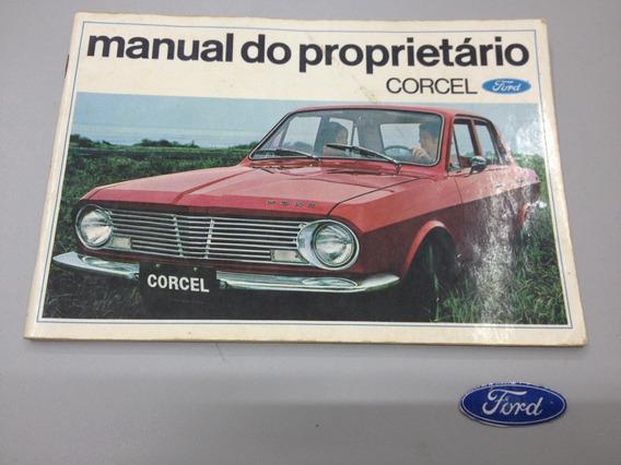 Manual Do Proprietário Corcel 1 - 1969 - Original
