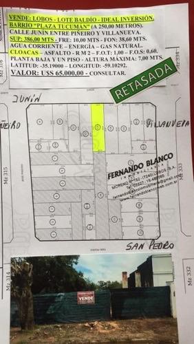 Terreno En Venta En Plaza Tucuman