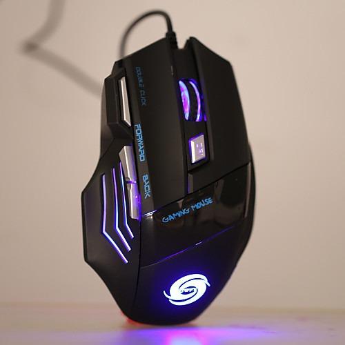 Com Fio Gaming Mouse Dpi Ajustável Retroiluminado Programáve
