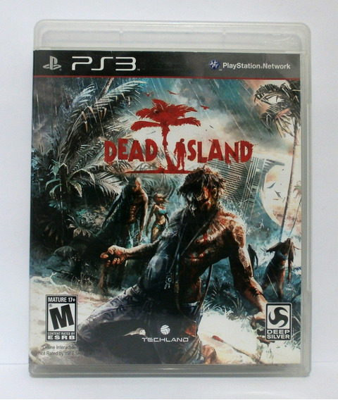 Dead Island Jogo Terror Ps3 Usado Mídia Fisica