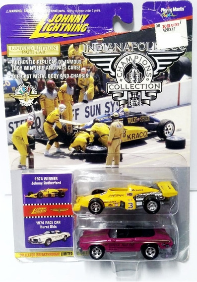 Johnny Lightning Indianapolis Winner Johnny Rutherford- 1/64