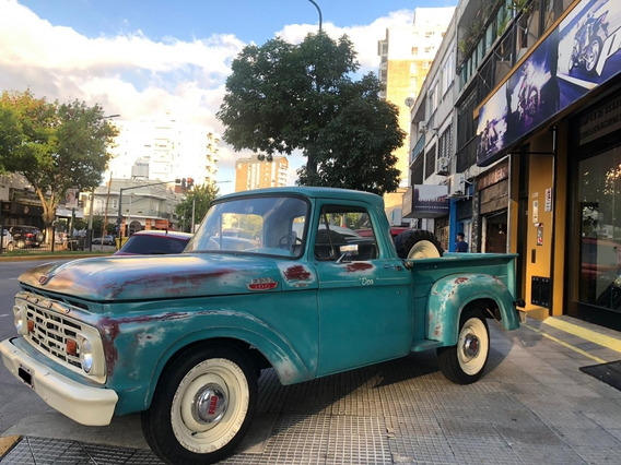Ford F-100 Año 1964 Motor V8 Pick-up Pro Seven!!