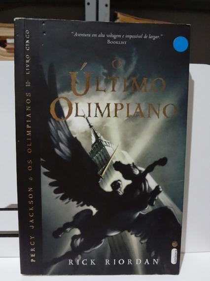 Livro O Último Olimpiano Rick Riordan