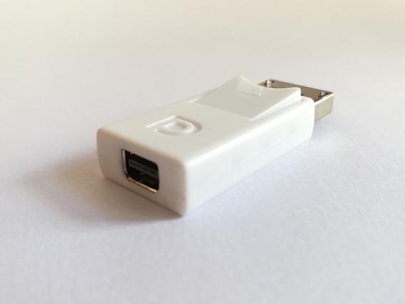 Adaptador Displayport Macho X Mini Displayport Fêmea Cintiq