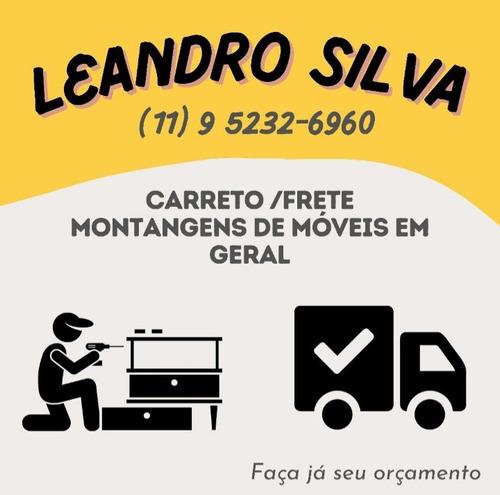 Imagem 1 de 3 de Carretos E Montagem De Móveis