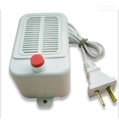Transformador Con Pulsador 12v Luber Par Cerradura Eléctrica