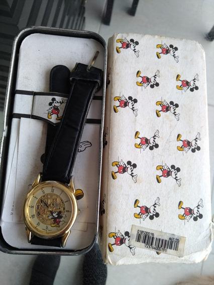 Relógio Original Antigo Mickey Relíquia