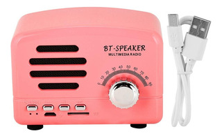 Ft-bt01 Mini Parlante Con Bluetooth Lector Micro Sd Recargab