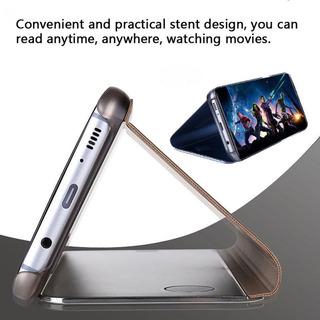 Funda De Proteccion Flip Inteligente Para S7 Edge, S8 S9