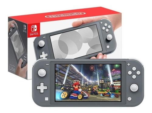 Nintendo Switch Lite - Color Gray - La Plata