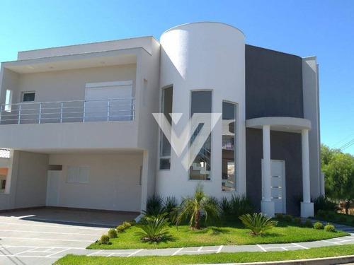 Imagem 1 de 26 de Sobrado Com 4 Dormitórios À Venda, 325 M² Por R$ 1.600.000,00 - Condomínio Parque Esplanada - Votorantim/sp - So0667
