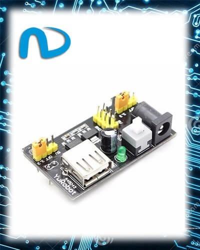 Fonte De Alimentação 3,3 V 5v Para Protoboard Arduino Pic